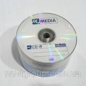Диск MyMedia CD-R, 700mb x 52 bulk, 50шт в упаковці, ціна за упаковку