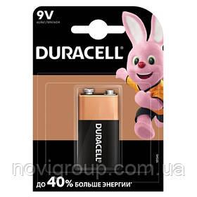 Батарейка лужна DURACELL 6LR61 MN1604, 1шт в блістері, ціна за блістер