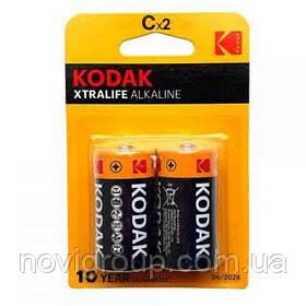 Лужна Батарейка KODAK XTRALIFE LR14, 2шт на блістері, ціна за блістер