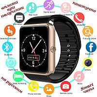 Розумні Smart Watch смарт фітнес браслет годинник трекер GT08 ПОШТУЧНО на РУССОКОМ стиль Xiaomi SAMSUNG Apple Watch3, фото 1