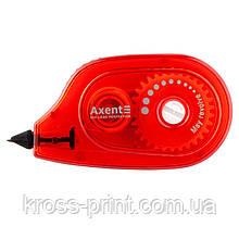 Корректор ленточный Axent 7009-05-A, 5 мм х 6 м, бордовый