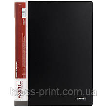 Папка-скоросшиватель Axent 1304-01-A, А4, черная