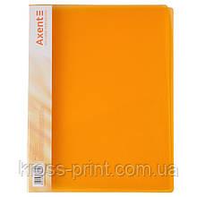 Папка-скоросшиватель Axent 1304-25-A, А4, оранжевая