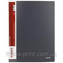 Папка-скоросшиватель Axent 1304-03-A, А4, серая