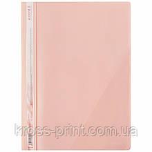Скоросшиватель с угловым карманом Axent Pastelini 1306-10-A, А4, розовый
