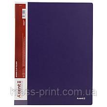 Папка-скоросшиватель Axent 1304-02-A, А4, синяя