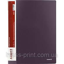 Папка-скоросшиватель Axent 1304-11-A, А4, сливовая