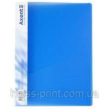 Папка-скоросшиватель Axent 1304-22-A, А4, синяя