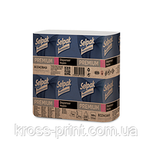 Серветки целюлоз. Premium , 2-х шар., 26х24 см, 250 шт., білий SELPAK PRO