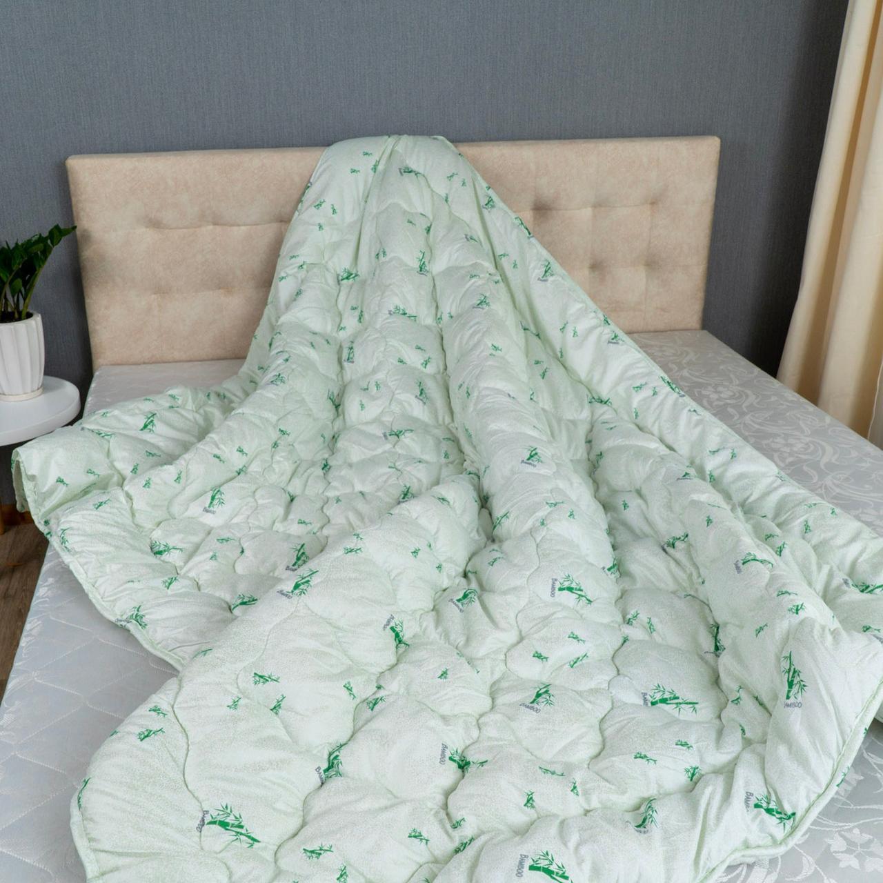Одеяло Arda «Bambo» белое с рисунком 150х210
