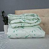 Одеяло Arda «Bambo» белое с рисунком 150х210, фото 2