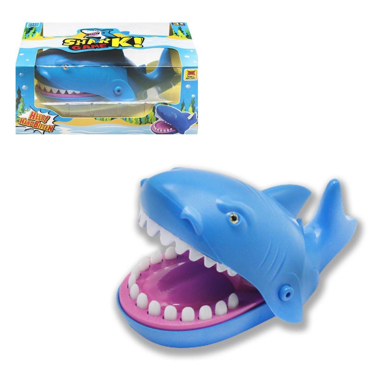 """Игра """"Акула-кусачка"""", синяя 9848"""