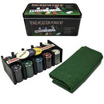 """Набор для покера """"Texas Holdem Poker Set"""" IGR38"""
