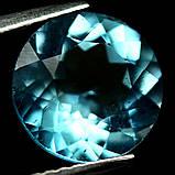 Кабошон топаз голубой Бразильский, Ø9 мм., 3,15 карат, 789КБТ, фото 2