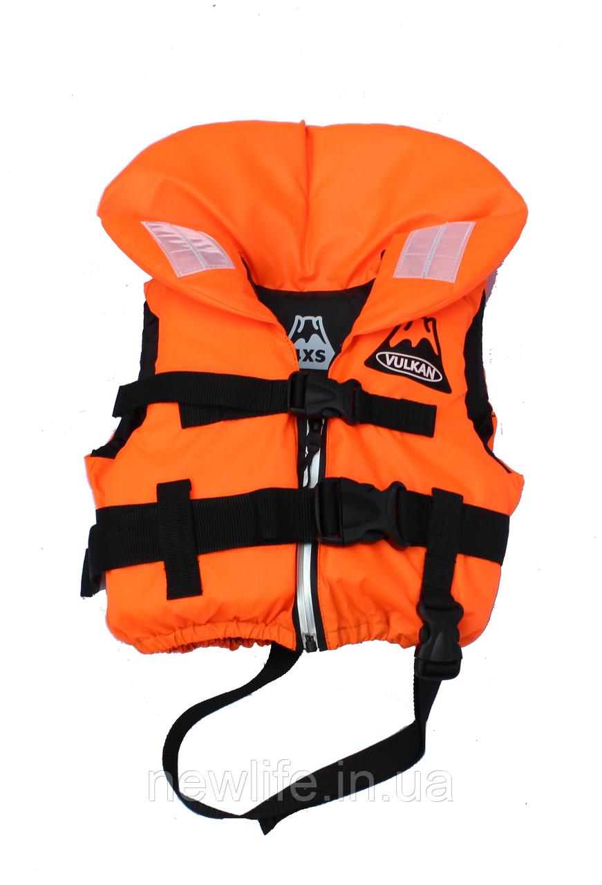 Спасжілет Vulkan комір дитячий 4XS помаранчевий
