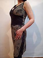 Красивое серое платье 42 евро (Ликвидация склада, распродажа)