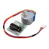 4-фазный шаговый мотор + ULN2003 драйвер, Arduino
