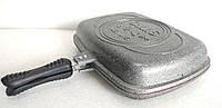 Сковорода-гриль двухсторонняя O.M.S. Collection 3215 grey