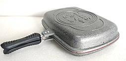Сковорода-гриль двостороння O.M.S. Collection 3215 grey
