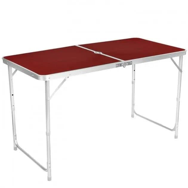 Складной туристический стол с 4 стульчиками 120 х 60 см