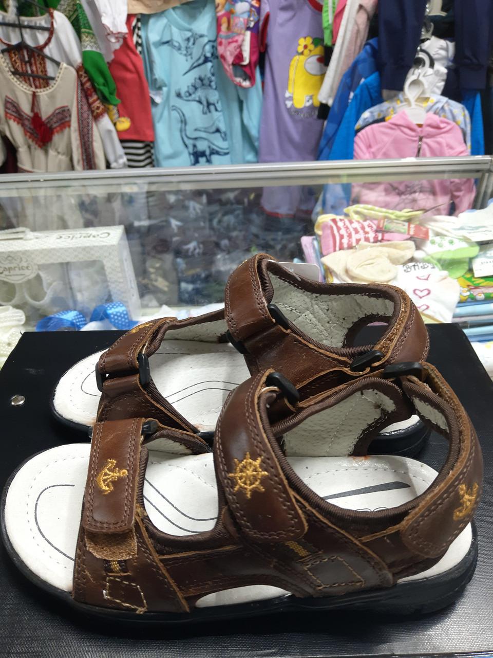 Босоножки сандалии натуральная кожа для мальчика девочки р. 31 - 36