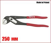 Клещи переставные 250 мм Yato YT-2090