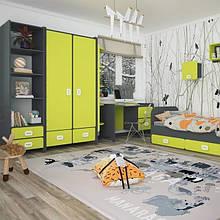 Дитячі кімнати / спальні / стінки