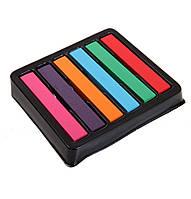 Временная краска для волос мелки пастель 6 цвет
