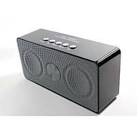 Портативная bluetooth колонка MP3 WS-768BT Black