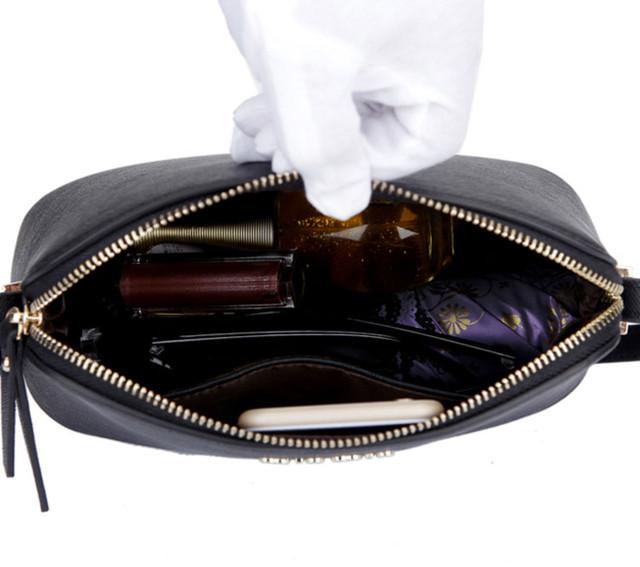 Внутреннее устройство женской сумки-купол.