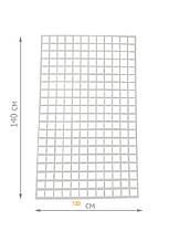Торговая сетка решётка 140/100см ячейка 5/5см