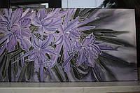 Картина батик «Орхидеи», размер 45х80