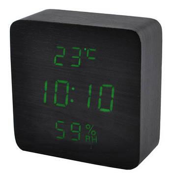 Часы электронные сетевые VST VST-872S-4