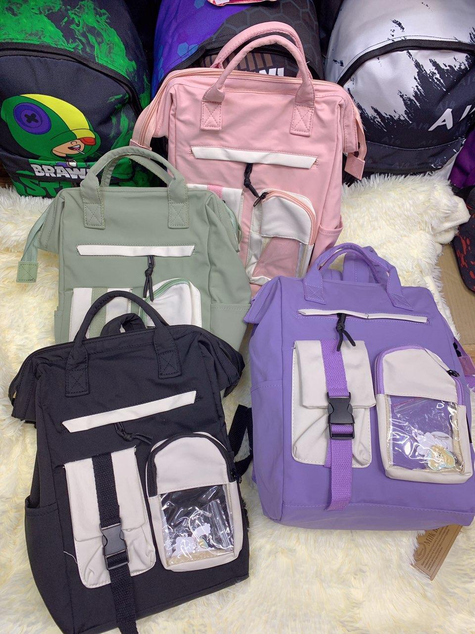 Рюкзак городской модный тканевый в разных цветах Mark