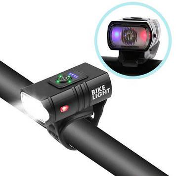 Велосипедний ліхтар BK-01Pro-XPE ULTRA LIGHT
