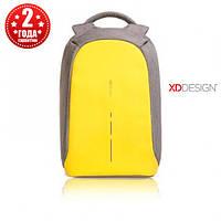 """Рюкзак антивор городской XD Design Bobby Compact 14"""", Primrose Yellow (P705.536), фото 1"""