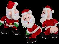 Танцующий со звуком Санта