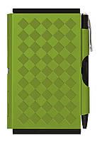 Кишеньковий блокнот з ручкою Diamond, зелений