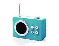 Радиоприемник Яркие впечатления (AM/FM - MP3), бирюзовый, фото 1