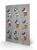 """Постер дерев'яний """"Mickey Mouse"""" 40 х 59 см"""
