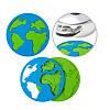 Підставка для посуду Balvi Blue Planet