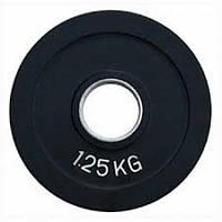 Диск олімпійський прогумований 1.25 кг