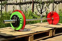 Штанга олимпийская стальная 100 кг , фото 1