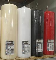 Свеча декоративная цилиндр BISPOL - 80*250