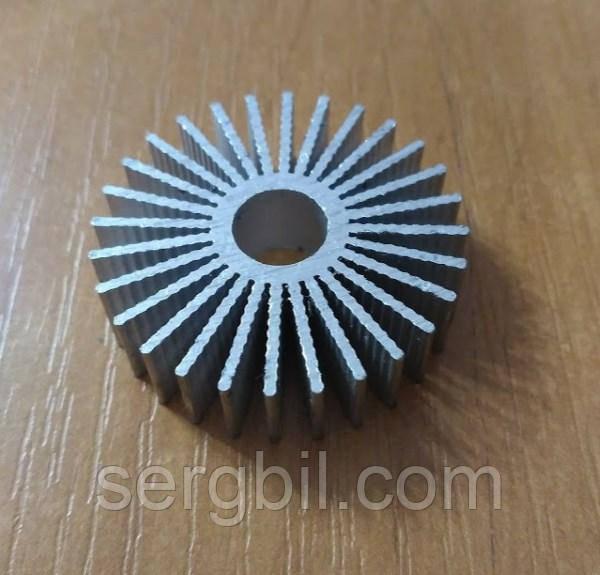 Радиатор для 2Вт светодиодов d36xh10мм, отверстие d-9мм