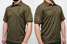 Поло CoolPass Velcro Olive