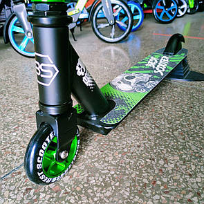 Самокат трюковой Бест Скутер Best Scooter для трюков диск 100 мм