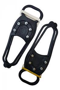 Ледоступы ледоходы накладки на обувь антискользящие на 5 шипов 132732P