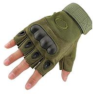 Перчатки тактические беспалые (Олива)