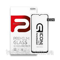 Захисне скло Armorstandart Icon для Xiaomi Redmi 9 Black (premium glass)
